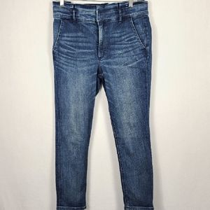 Express Skinny Ankle with Paperbag Waist SZ 10P